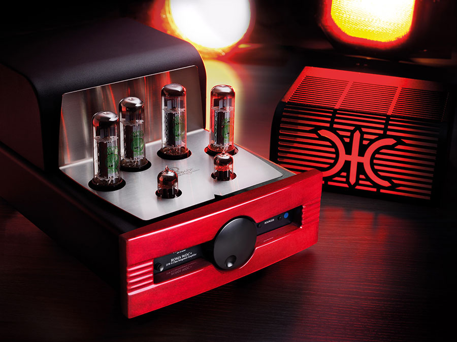Synthesis ROMA DC96+: amplificatore valvolare  e DAC all in one