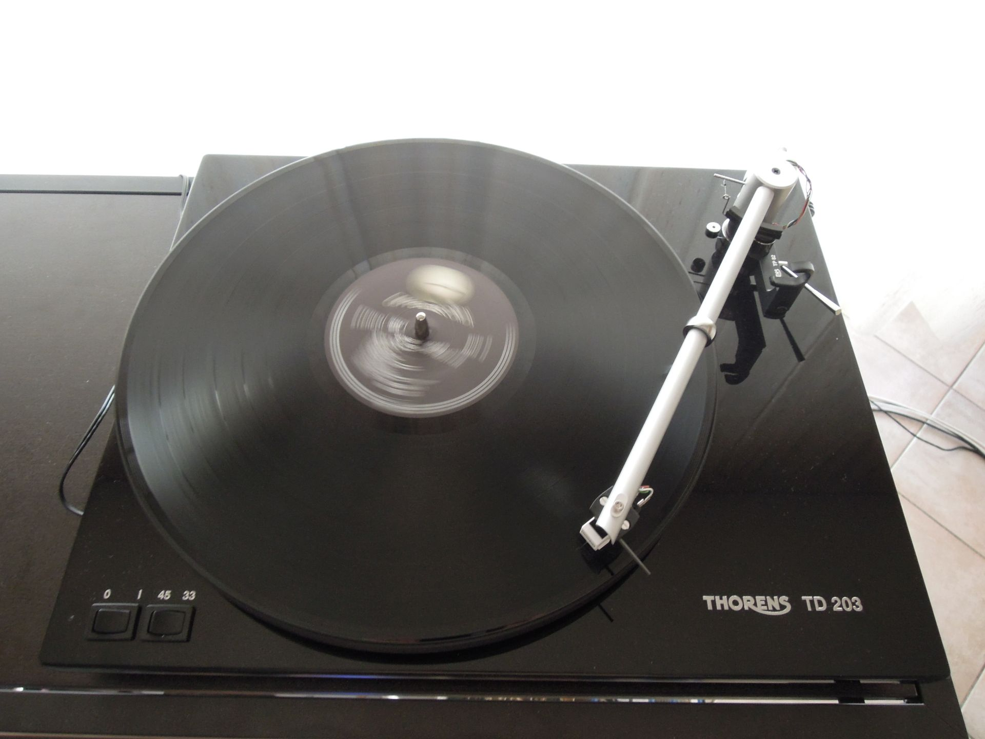 Recensione Thorens TD203
