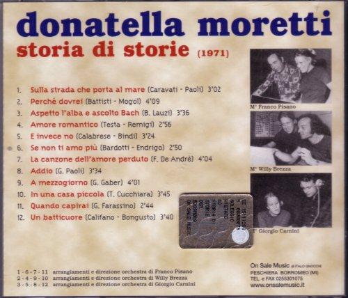 Donatella Moretti - Storia Di Storie